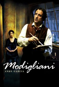 "Poster for the movie ""Modigliani"""