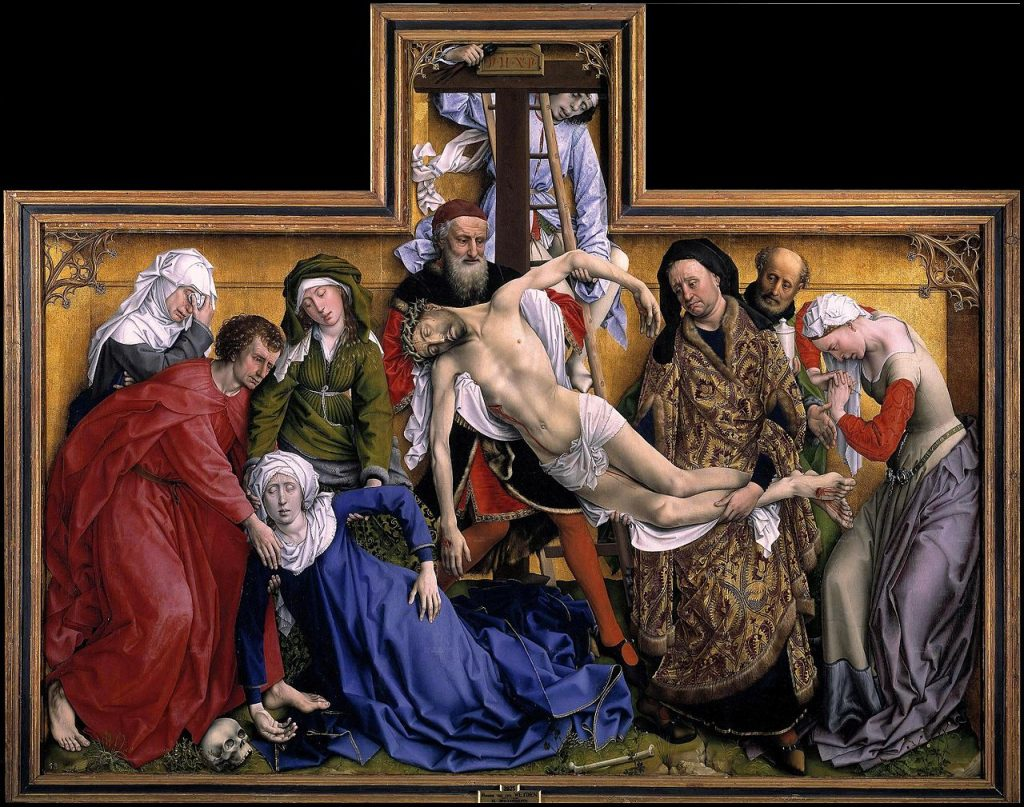 Rogier van der Weyden Descendimiento de Cristo