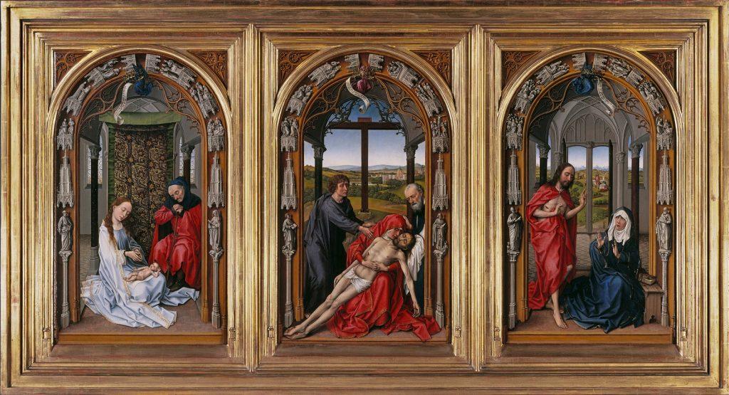 Rogier van der Weyden Tríptico de Miraflores