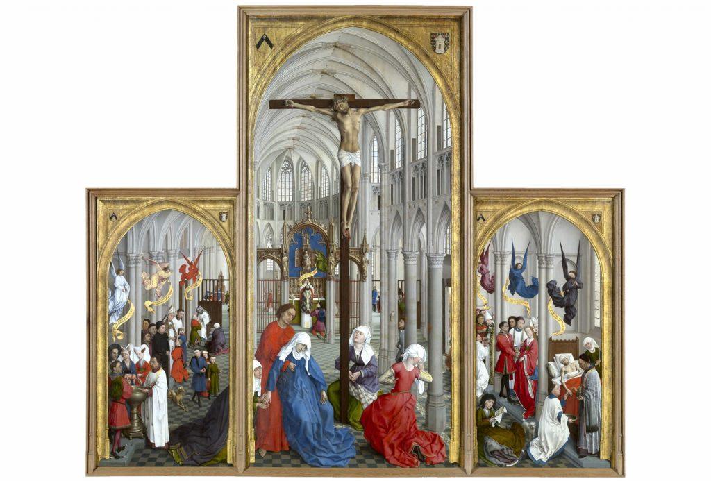 6 Tríptico de los Siete Sacramentos, Weyden