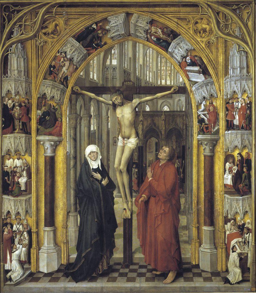 8 Crucifixión, Maestro de la Redención del Prado