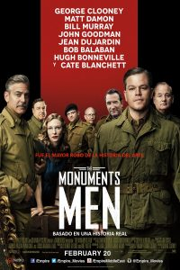 "Poster for the movie ""Monuments Men"""