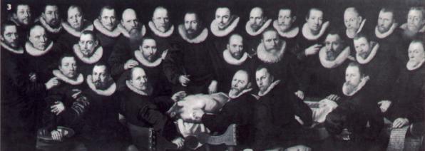 La lección de Anatomía del Dr. Sebastiaen Egbertsz de Vrij, Aert Pietersz. 1603