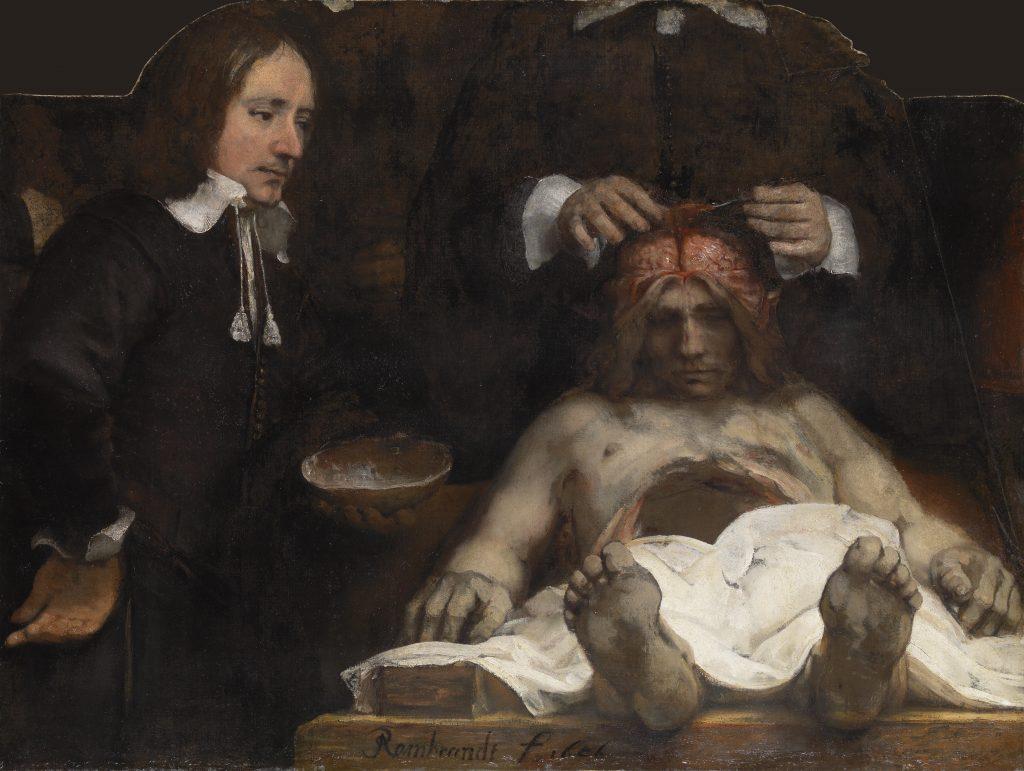 Lección de anatomía del Dr. Deijman Rembrandt, 1656