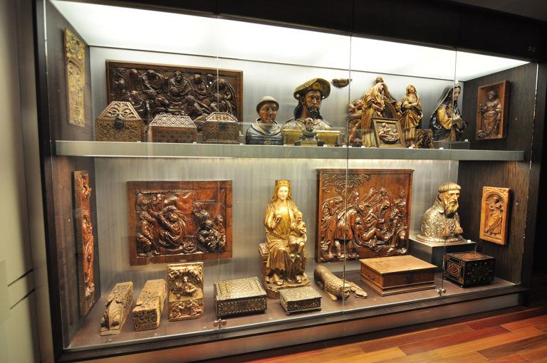 12 Gabinete coleccionista, Museo Lázaro Galdiano