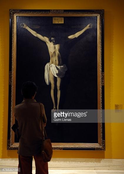 12. Zurbarán, Cristo Muerto en la Cruz