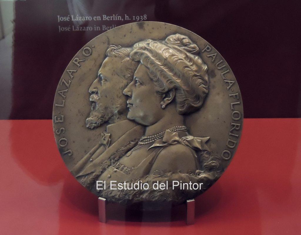 3 Jules Chaplain, Medalla José Lázaro Galdiano