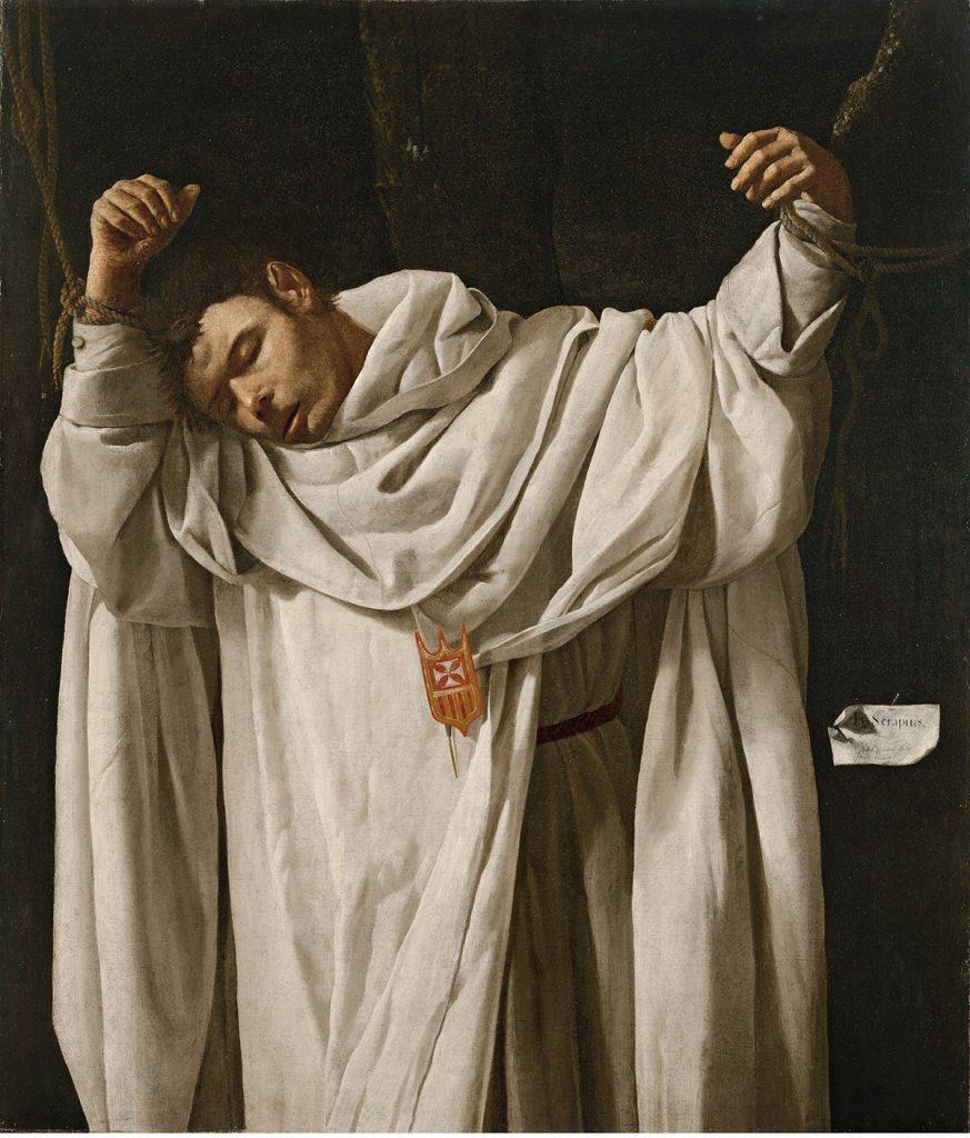 6. Zurbarán, San Serapio