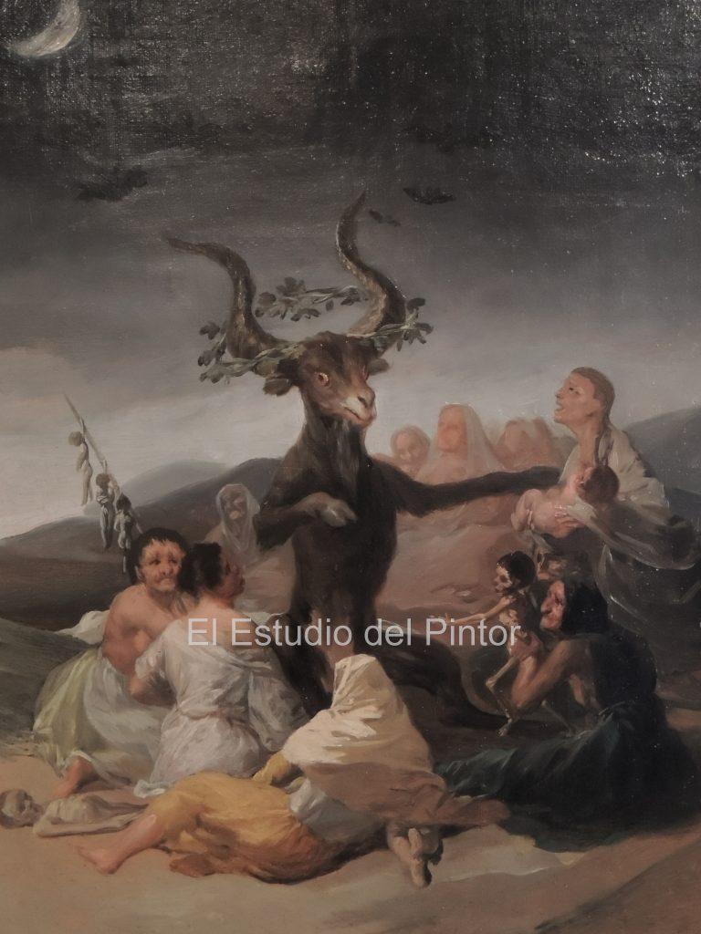 7 El Aquelarre, Goya, Museo Lázaro Galdiano