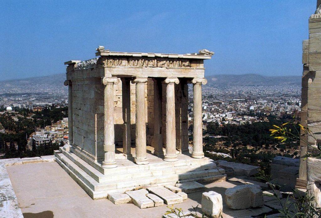 7. Templo de Atenea Niké