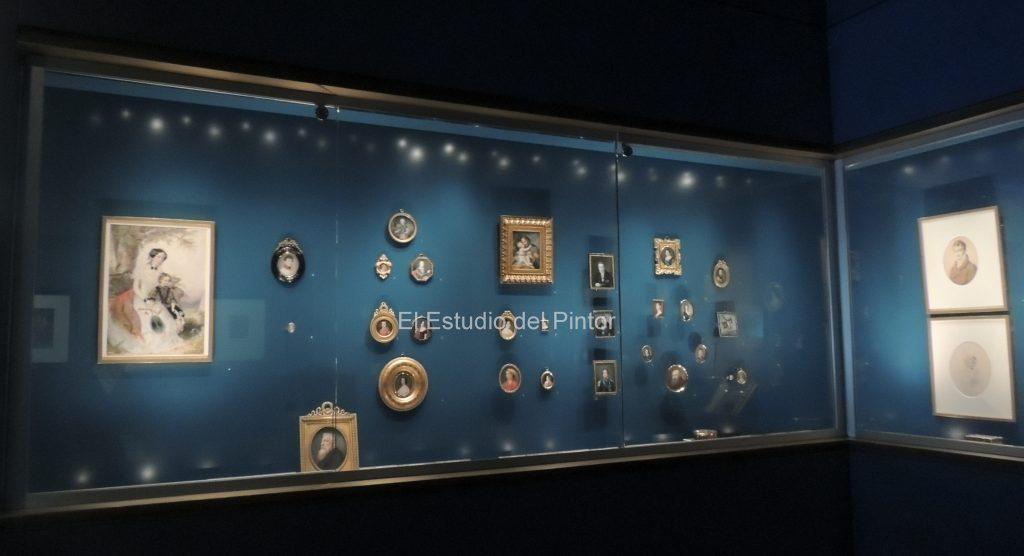 9 Gabinete de miniaturas, Museo Lázaro Galdiano
