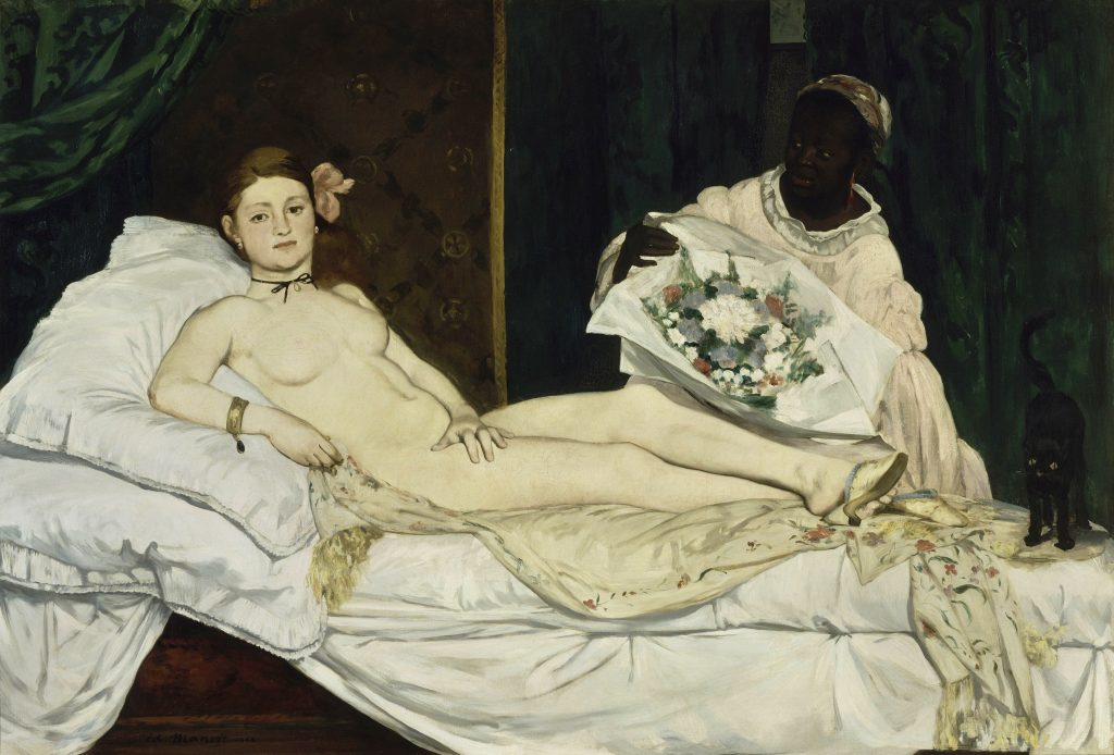 18. Olympia. Manet