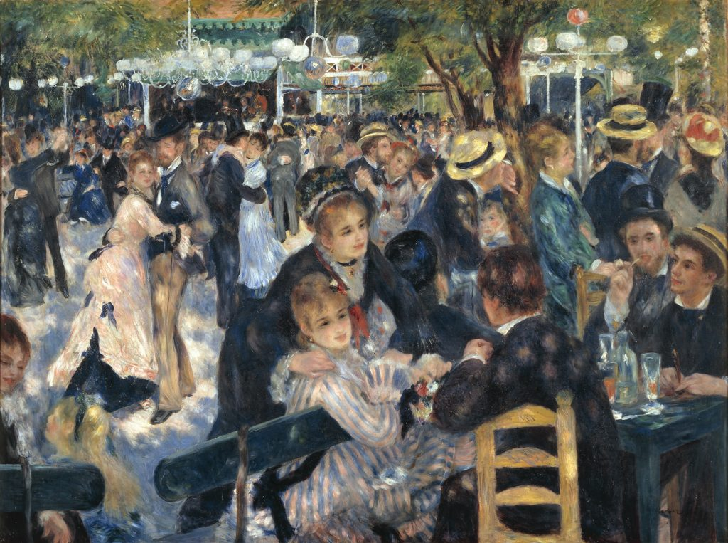 22. Le Moulin de la Galette. Renoir