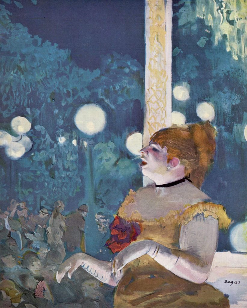 23. Café cantante, Degas