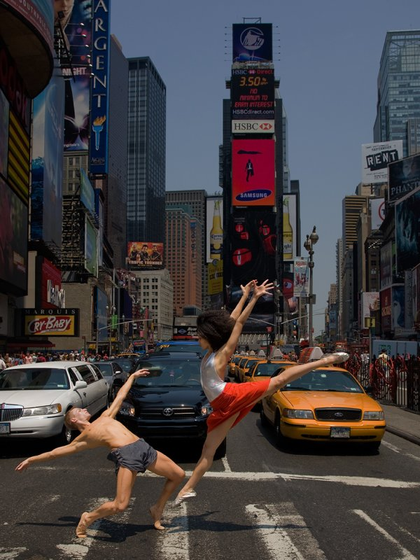 27. Richard Calmes, Beautiful dancers on the Town