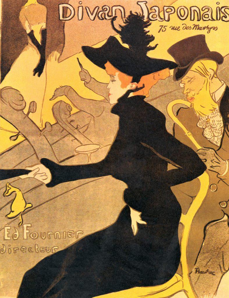 29. Diván Japonés. Toulouse Lautrec