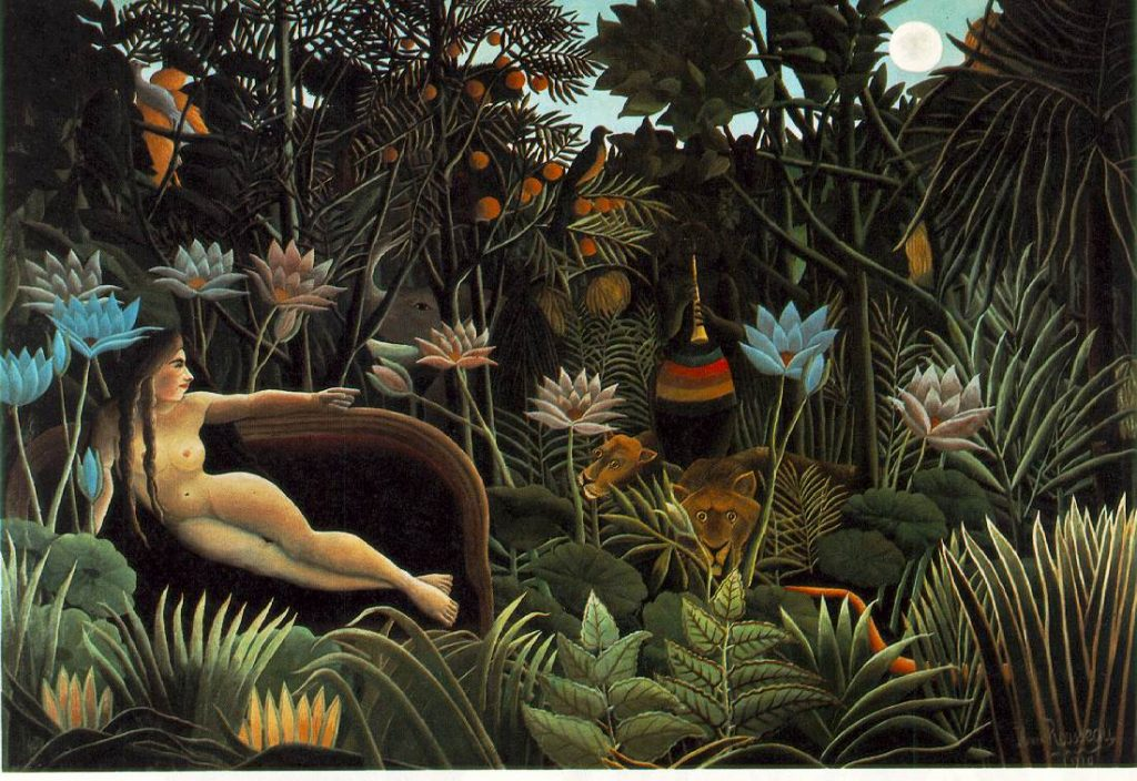 30. El Sueño. Henri Rousseau