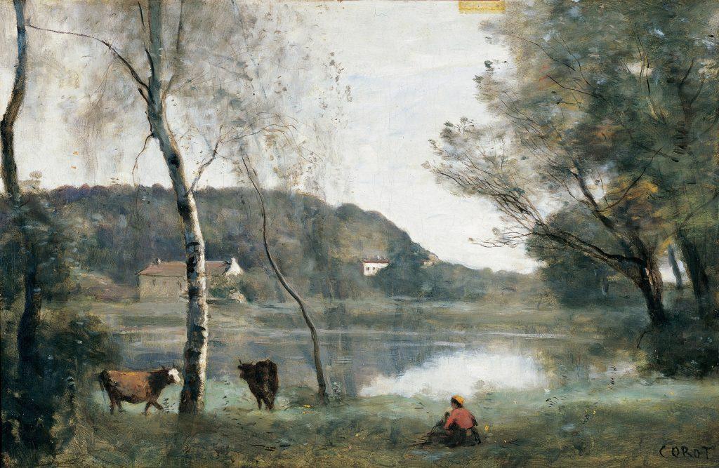 5. El estanque de la Ville d'Avray. Camille Corot