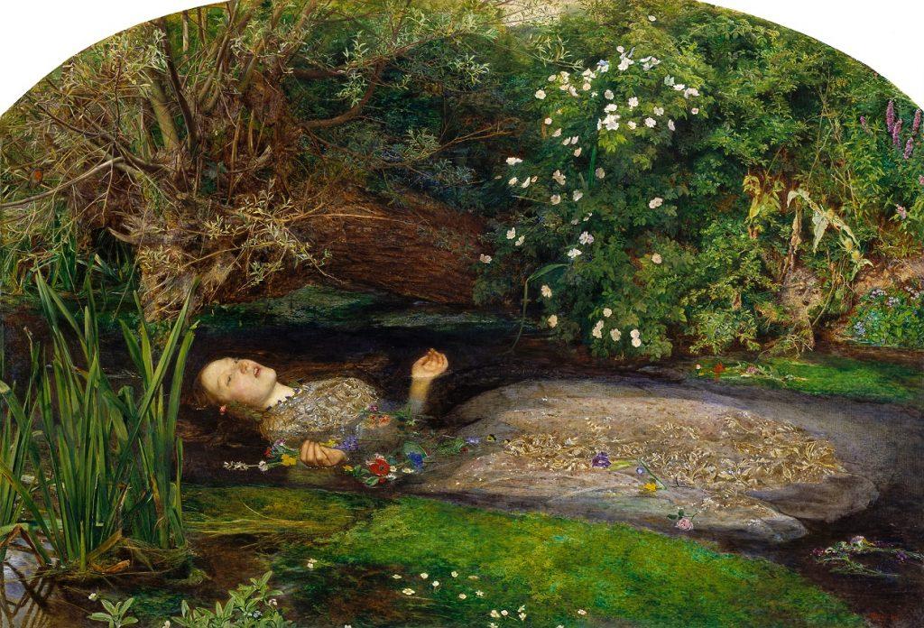 7. Ofelia. Millais