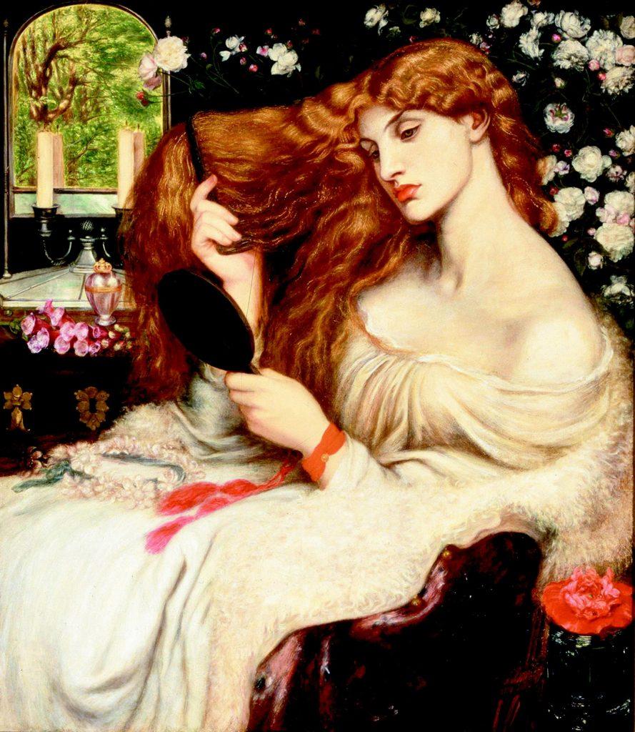 8. Lady Lilith. Gabriel Rossetti