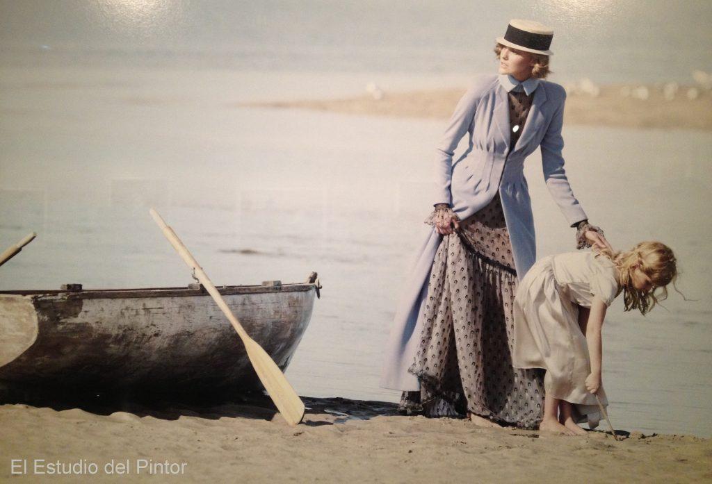 11. Patrick Demarchelier, Barridas por la marea, 2011