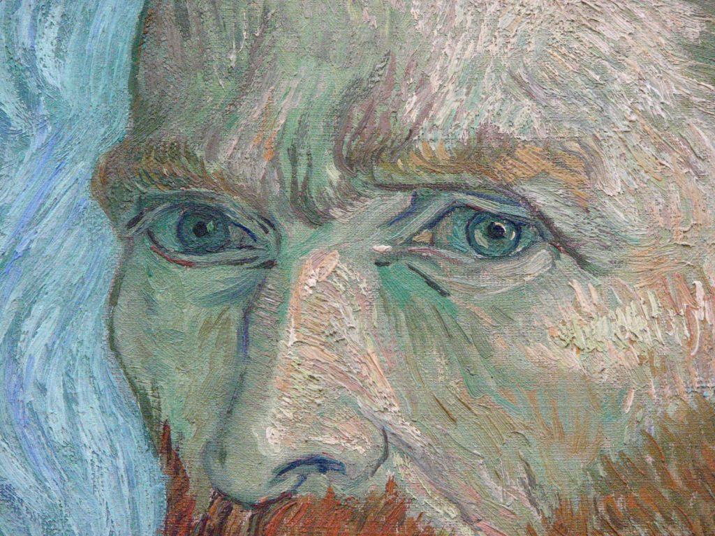 2. Autorretrato Van Gogh Zoom