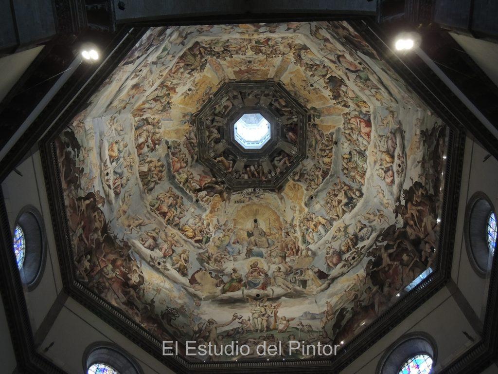 3. Interior cúpula Florencia