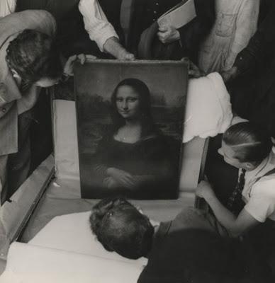 4. Gioconda en el Louvre durante la Guerra