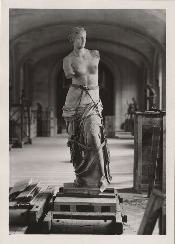 6. La Venus de Milo en la Segunda Guerra Mundial