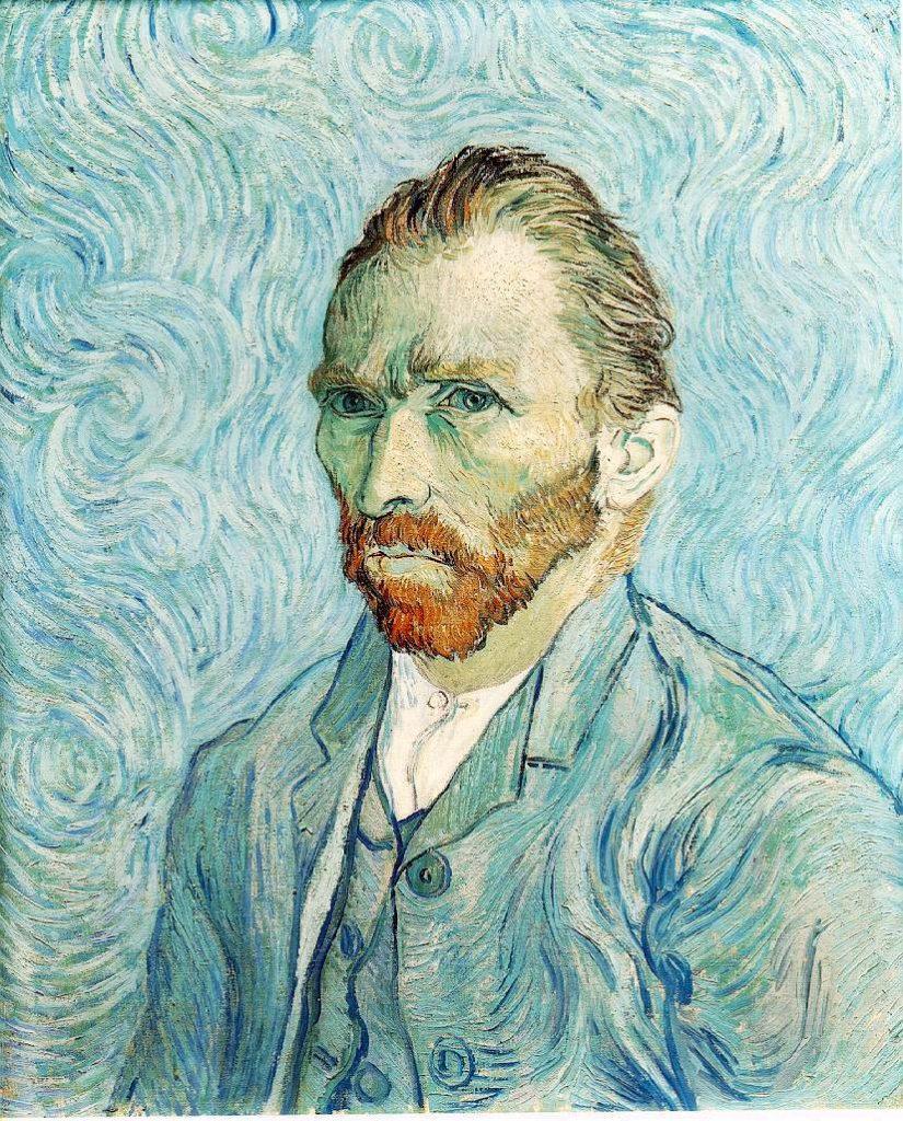 9. Autorretrato van Gogh
