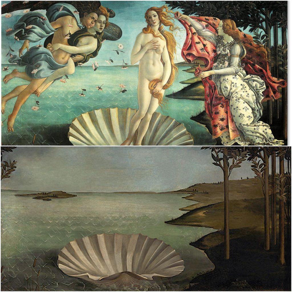 13. Nacimiento de Venus, Botticelli