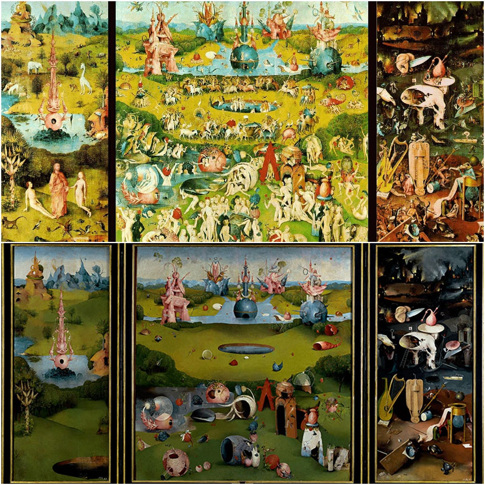 Descubriendo i espacios ocultos jos manuel - El bosco el jardin de las delicias ...
