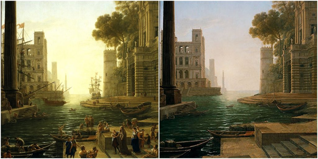 6. Puerto en Ostia, Claudio de Lorena