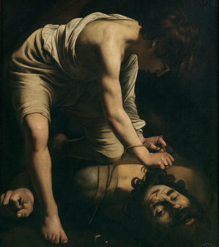 6. David vencedor de Goliat