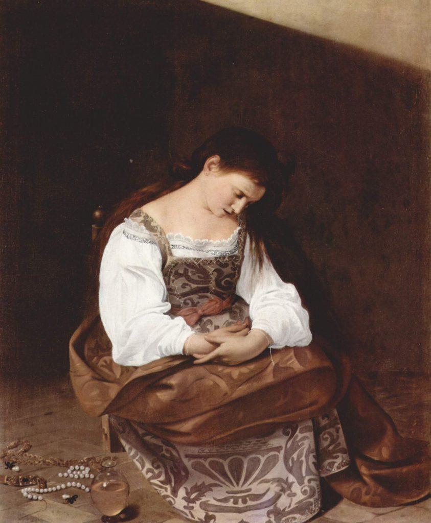 8. Magdalena penitente