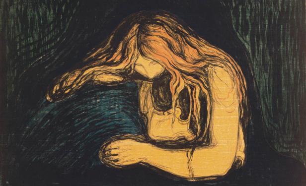 11. Munch, Mujer vampiro