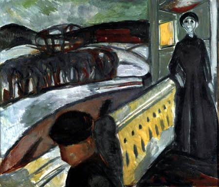 13. Munch, En las escaleras de la veranda