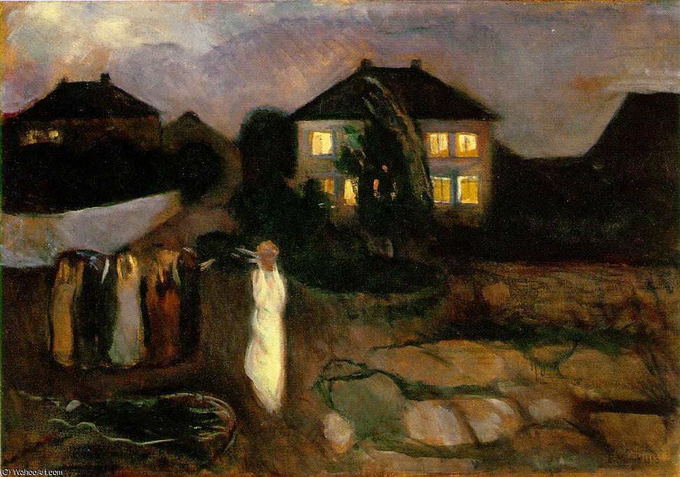 14. Munch, La tormenta