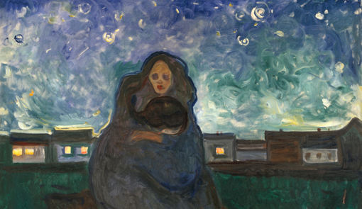 15. Munch, Bajo las estrellas