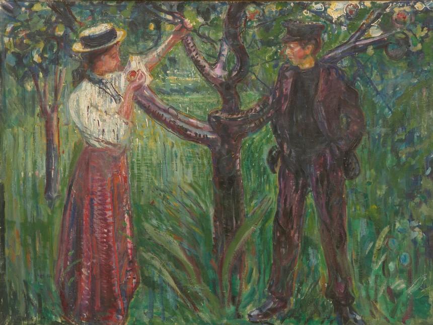 16. Munch, Adán y Eva