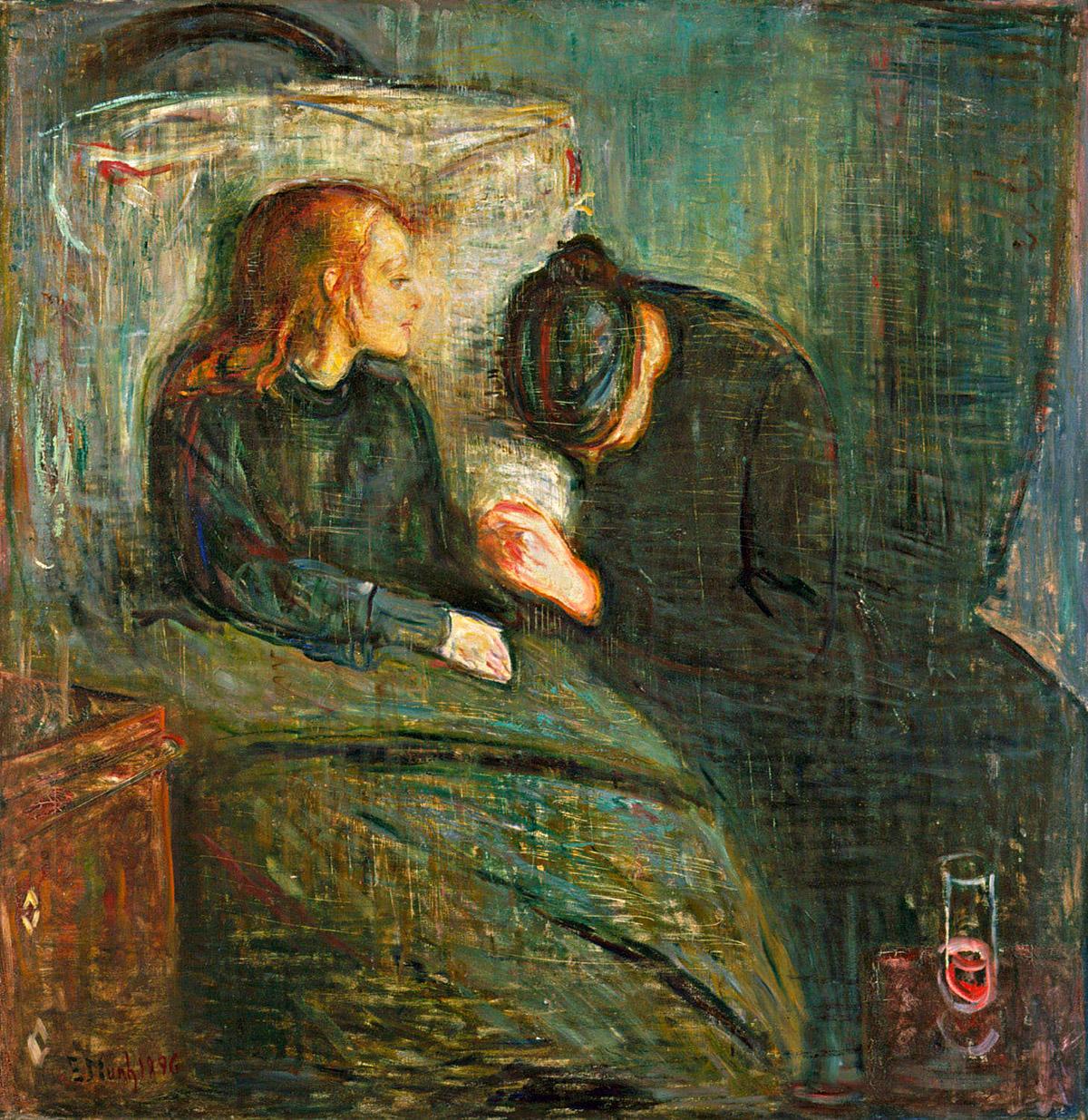 5. Munch, La niña enferma