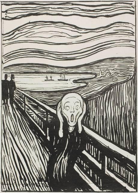 6. Munch, El grito