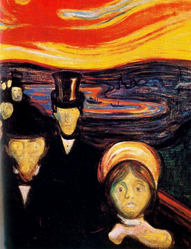 7. Munch, Ansiedad