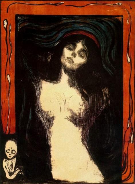 9. Munch, Madonna