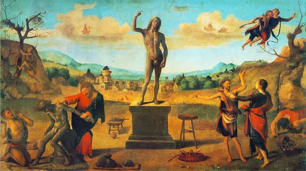 11. El mito de Prometeo, Piero di Cosimo