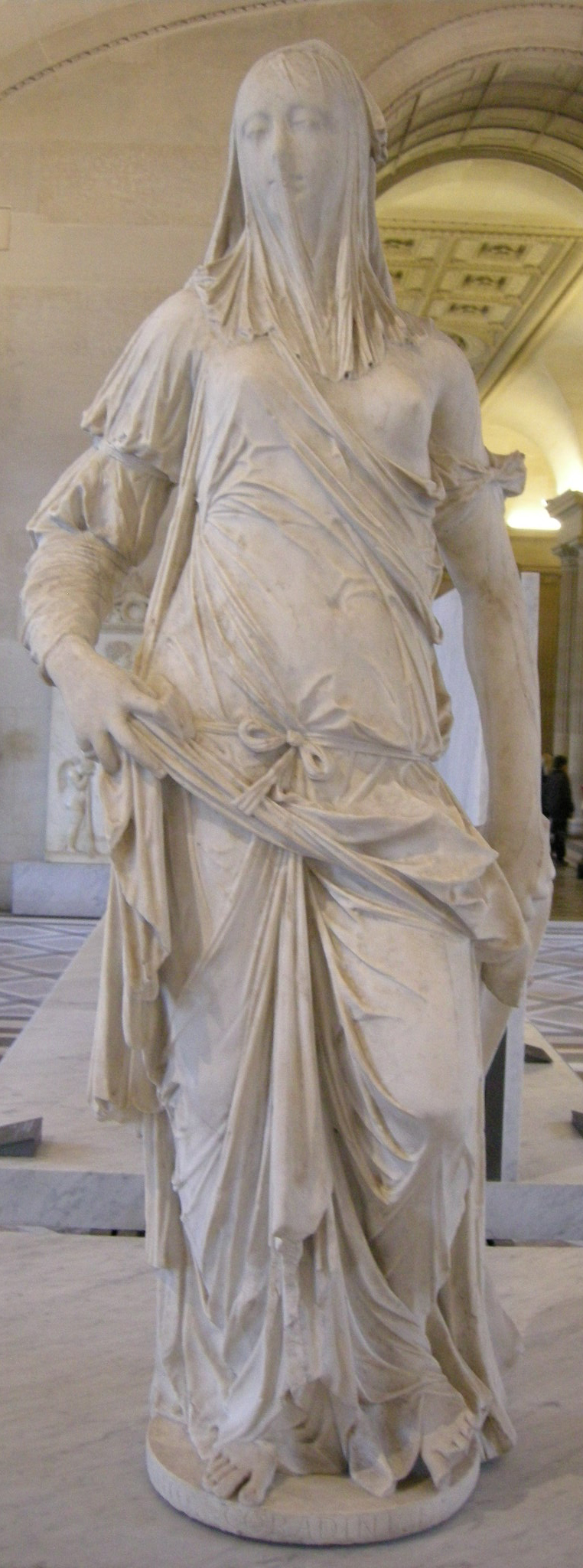 3. Dama velada (Fe), Corradini