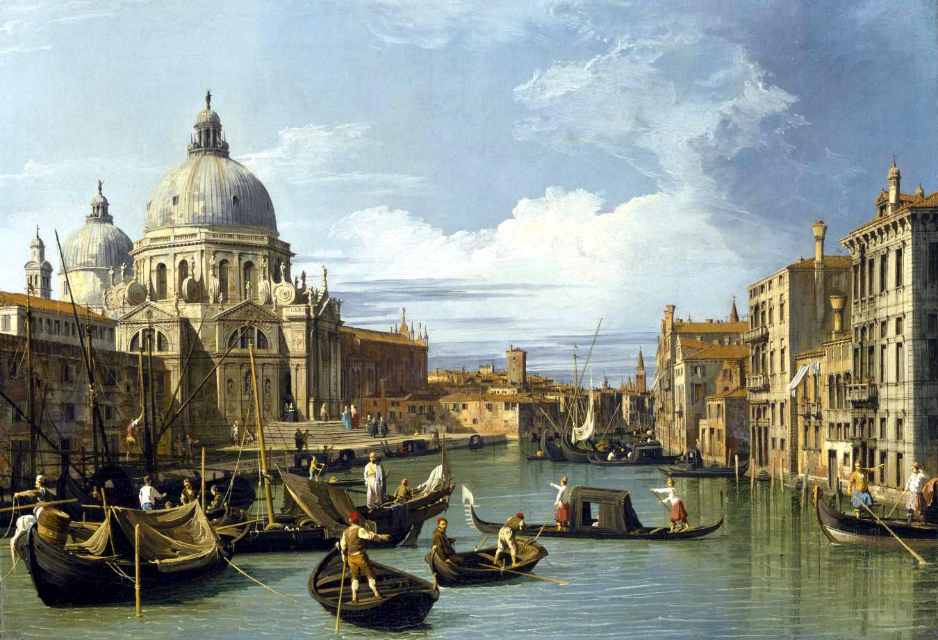 5. Entrada al Gran Canal, Canaletto