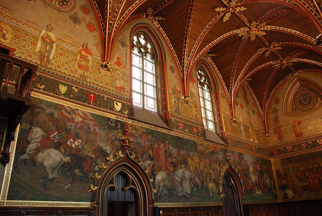 5. Sala gótica, Ayuntamiento de Brujas