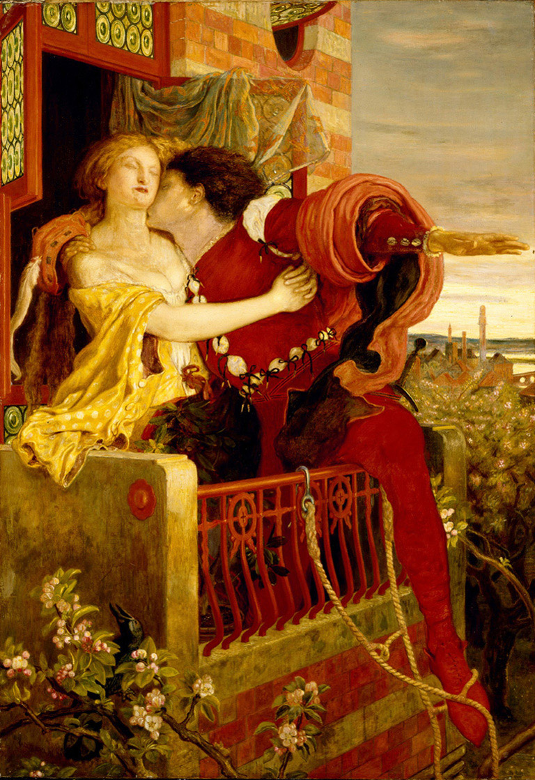 10. Romeo y Julieta, Ford Madox Brown, 1870