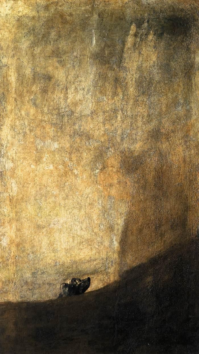110. El perro semi-hundido